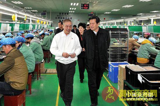国台办副主任龚清概赴湖北走访慰问台资企业、台胞(组图)